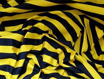 bw stoff gelb schwarz gestreift