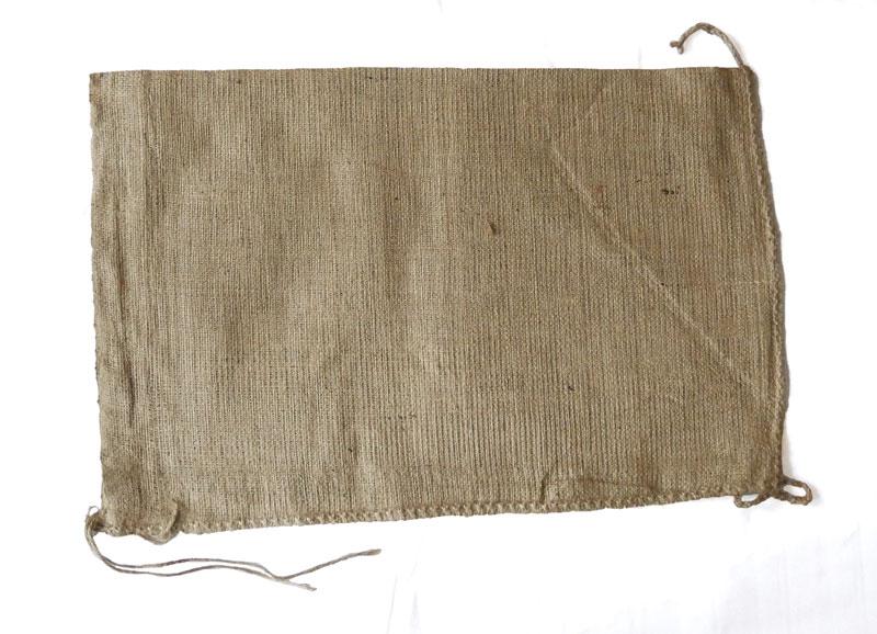 50 Jute Sandsack  40 x 60 cm mit Bindeband