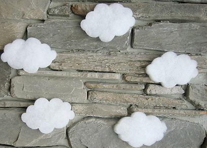 mini wolken aus schneematte ca 12 cm x 8 cm x 2 cm 82260 4026856822609. Black Bedroom Furniture Sets. Home Design Ideas